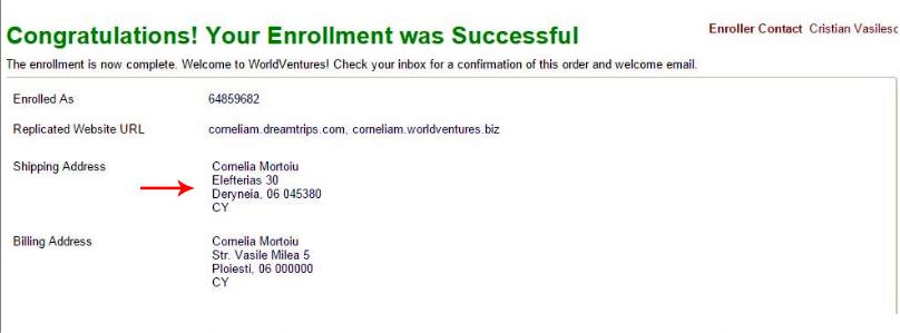 Same Address World Ventures Cyprus Enrollment 4