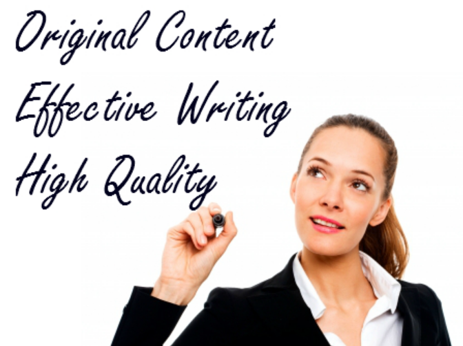 Writing service specializing